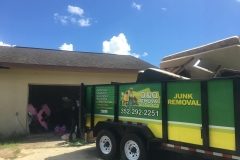 Q & Q Large Truck for Garbage Removal Ocala FL